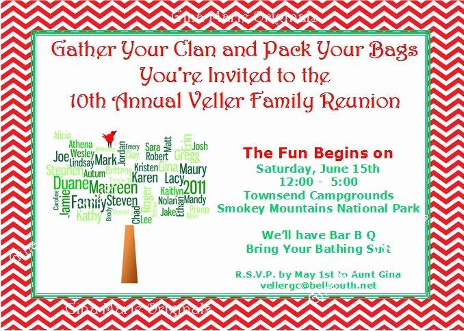 Family Reunion Invitation Wording New Family Reunion Invitation Wording