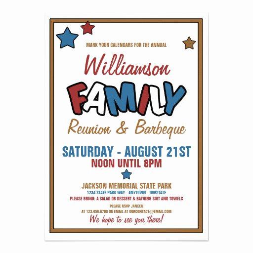 Family Reunion Invitation Wording Unique Free Family Reunion Invitations