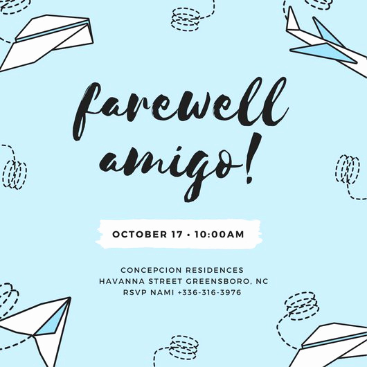 Farewell Party Invitation Wording Lovely Customize 3 999 Farewell Party Invitation Templates