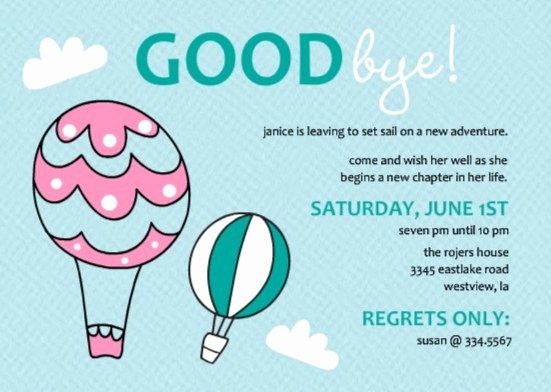 Farewell Party Invitation Wording New Going Away Party Ideas Great Bon Voyage Party Ideas and