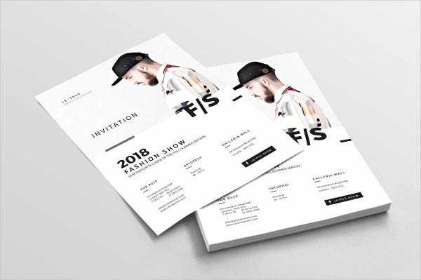 Fashion Show Invitation Template Best Of 29 Invitation Flyer Templates Free & Premium Download