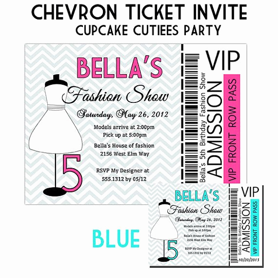 Fashion Show Invitation Template Fresh 158 Best Images About Party Ideas for the Wee Es On