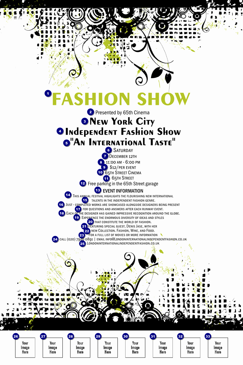 Fashion Show Invitation Template Lovely What is Fashion Show Invitation Template Sitestatr