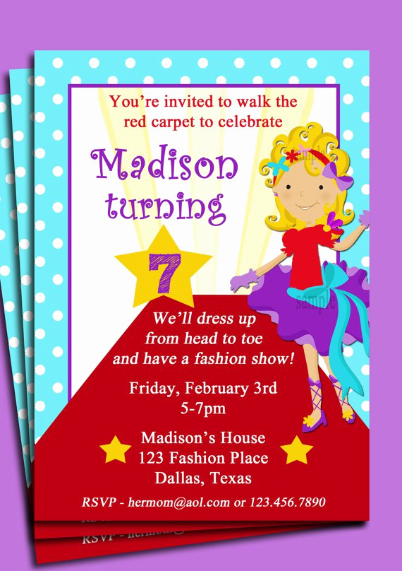 Fashion Show Invitation Template New Fashion Show Invitation Wording