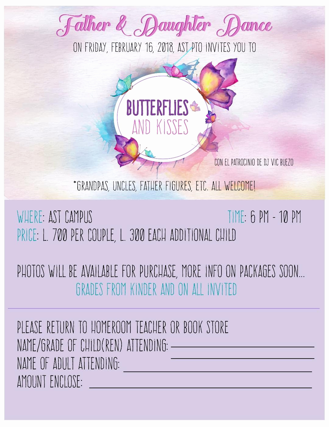 Father Daughter Dance Invitation Awesome 1 A Mrs Matamoros Ms Casco