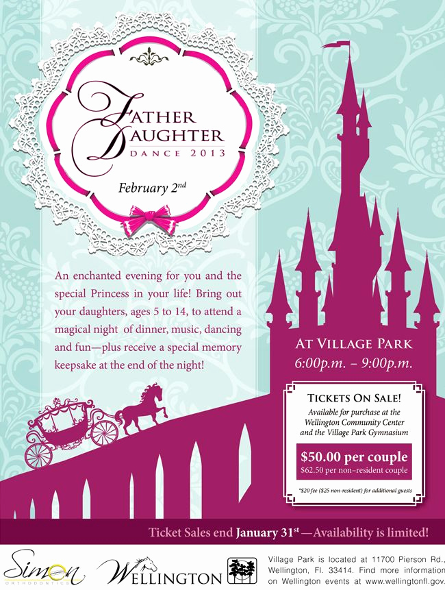 Father Daughter Dance Invitation Template Best Of 1000 Images About Daddy Dance Flyers On Pinterest