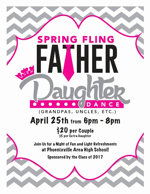 Father Daughter Dance Invitation Template Lovely 1000 Images About Father Daughter Dance On Pinterest