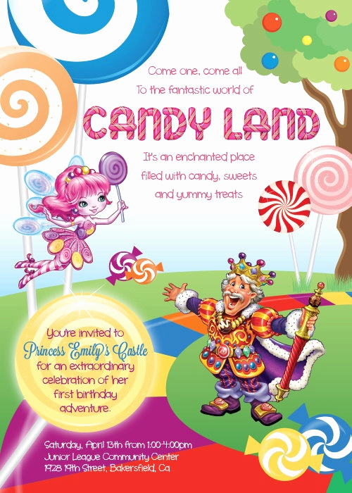Father Daughter Dance Invitation Template Unique 20 Best Evolution Of Candy Land Images On Pinterest