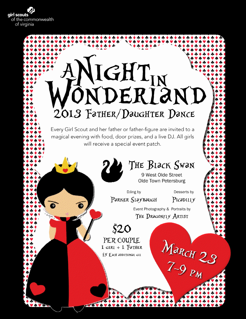 Father Daughter Dance Invitation Wording Beautiful Daddy Daughter Dance Invitations Ideas