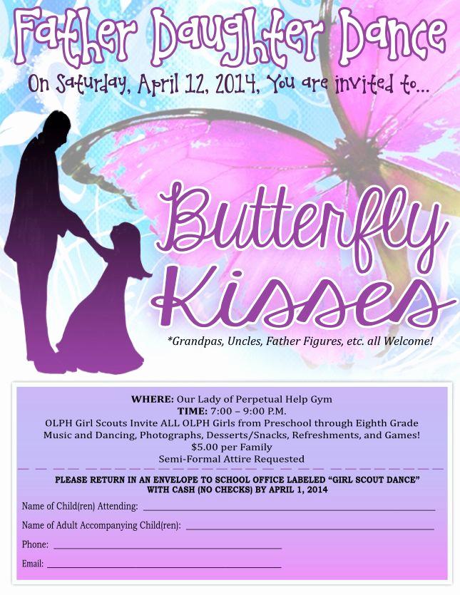 Father Daughter Dance Invitation Wording Elegant 19 Best Daddy Dance Flyers Images On Pinterest
