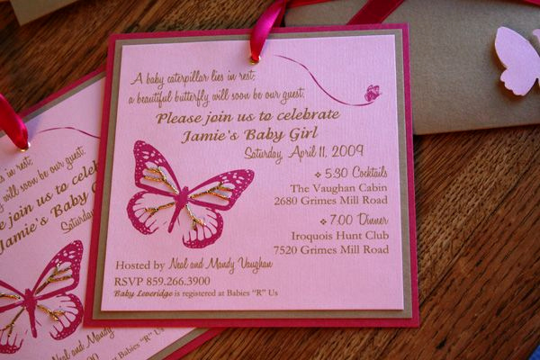 Father Daughter Dance Invitation Wording Lovely Beautiful butterfly Invitation Wording