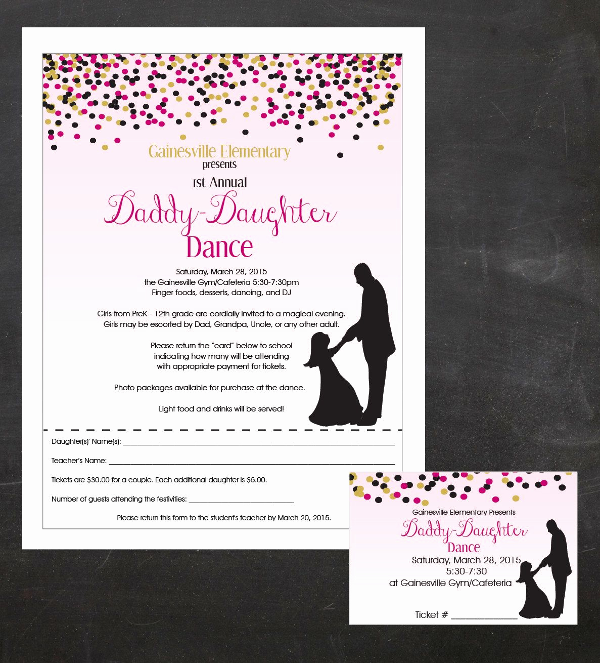 Father Daughter Dance Invitation Wording Luxury Daddy Daughter Dance Father and Daughter Dancing event