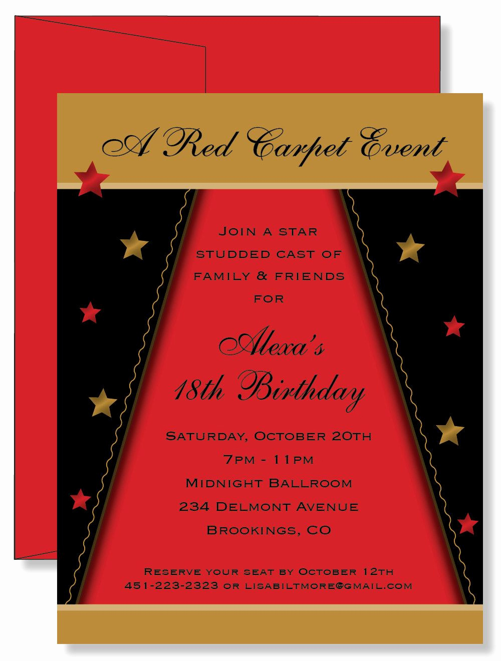 Father Daughter Dance Invitation Wording New Red Carpet Invitations – Invitation Samples 2014