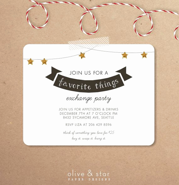 Favorite Things Party Invitation New 1000 Images About Favorite Things Party Ideas On