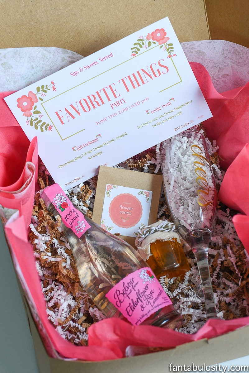 Favorite Things Party Invitation New You Re Invited Favorite Things Party Fantabulosity