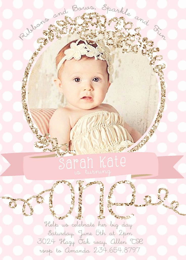 First Birthday Invitation Ideas Fresh 25 Best Ideas About First Birthday Invitations On