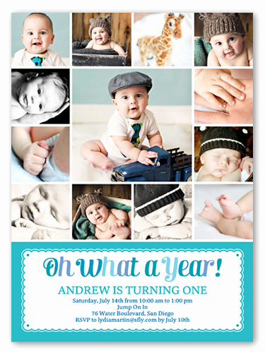First Birthday Invitation Ideas New Super Fun Ideas for First Birthday Invitation Card Bigfday