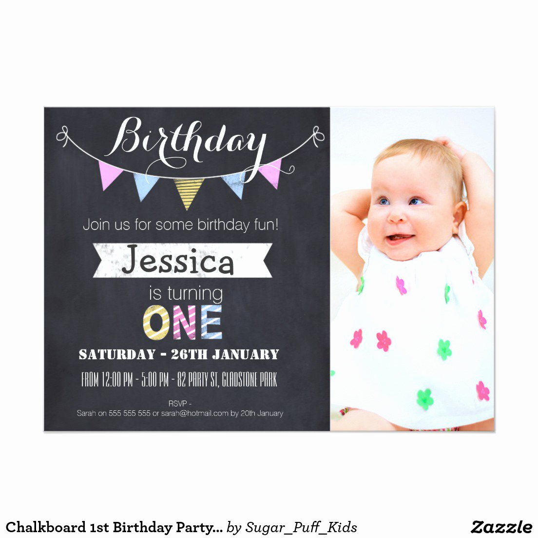 First Birthday Invitation Ideas Unique 1st Birthday Party Invitations for Boys