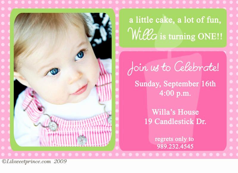 First Birthday Invitation Wording Elegant First Birthday Invitations Ideas – Free Printable Birthday