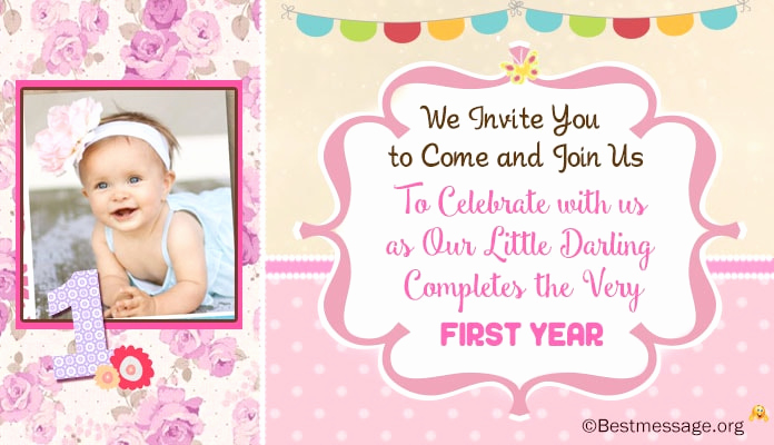 First Birthday Invitation Wording Unique Unique Cute 1st Birthday Invitation Wording Ideas for Kids