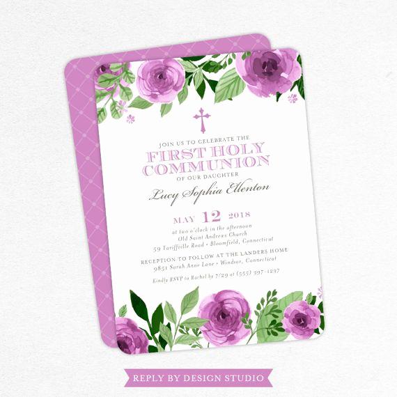 First Communion Invitation Ideas Beautiful Best 25 First Munion Invitations Ideas On Pinterest