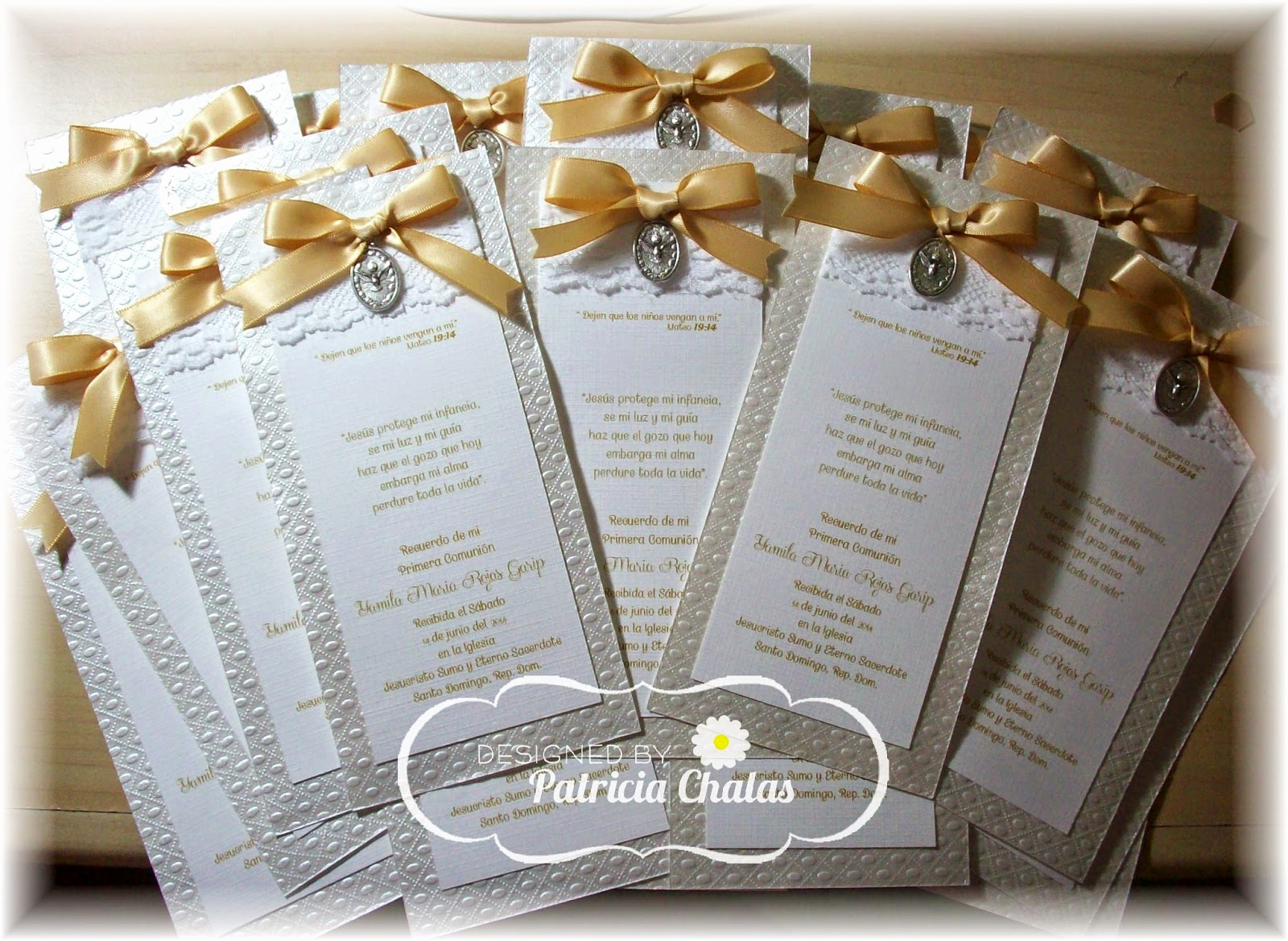 First Communion Invitation Ideas Best Of Mis Creaciones by Patricia Chalas First Munion