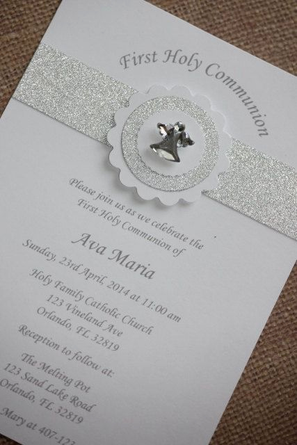 First Communion Invitation Ideas New Best 25 First Munion Invitations Ideas On Pinterest