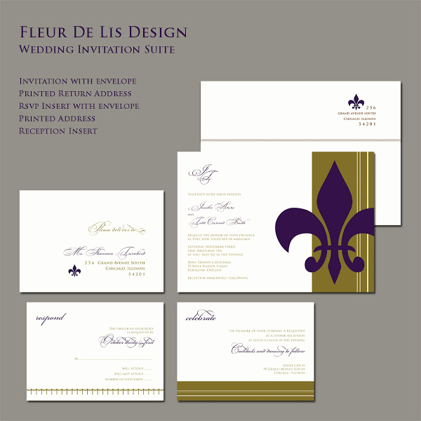 Fleur De Lis Wedding Invitation Lovely Paper Impressions New Designs for Your Wedding