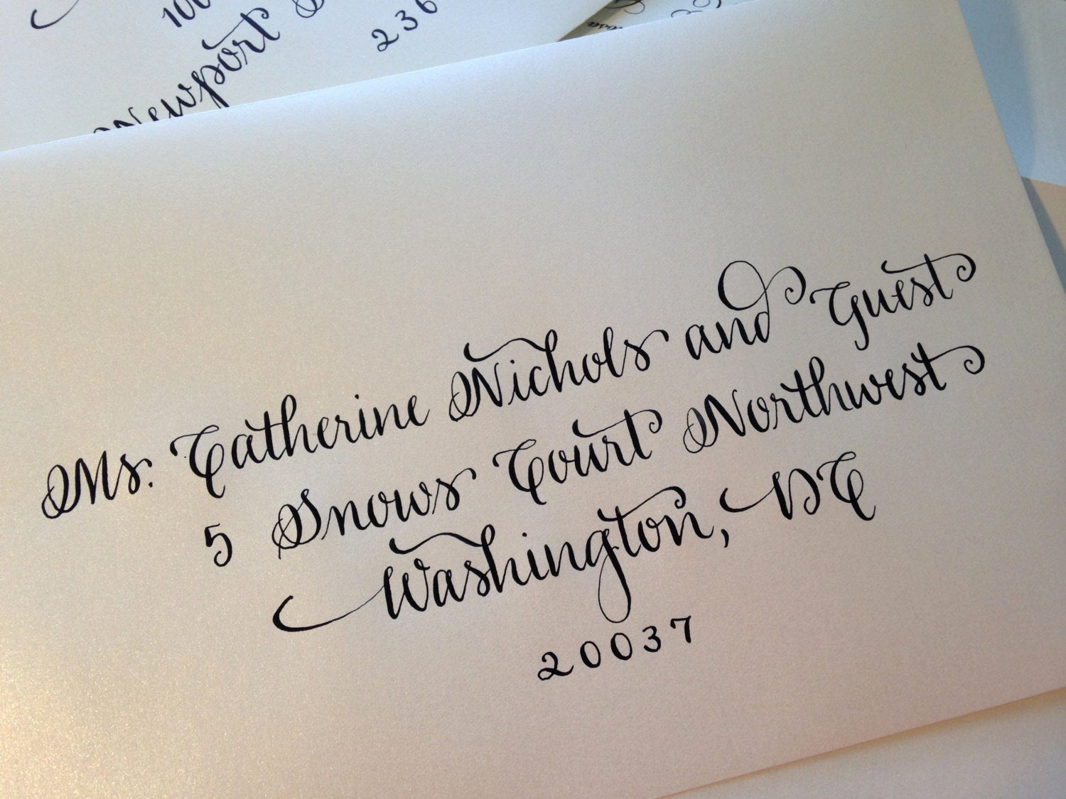Fonts for Wedding Invitation Envelopes Awesome Hand Written Calligraphy Envelopes Script by