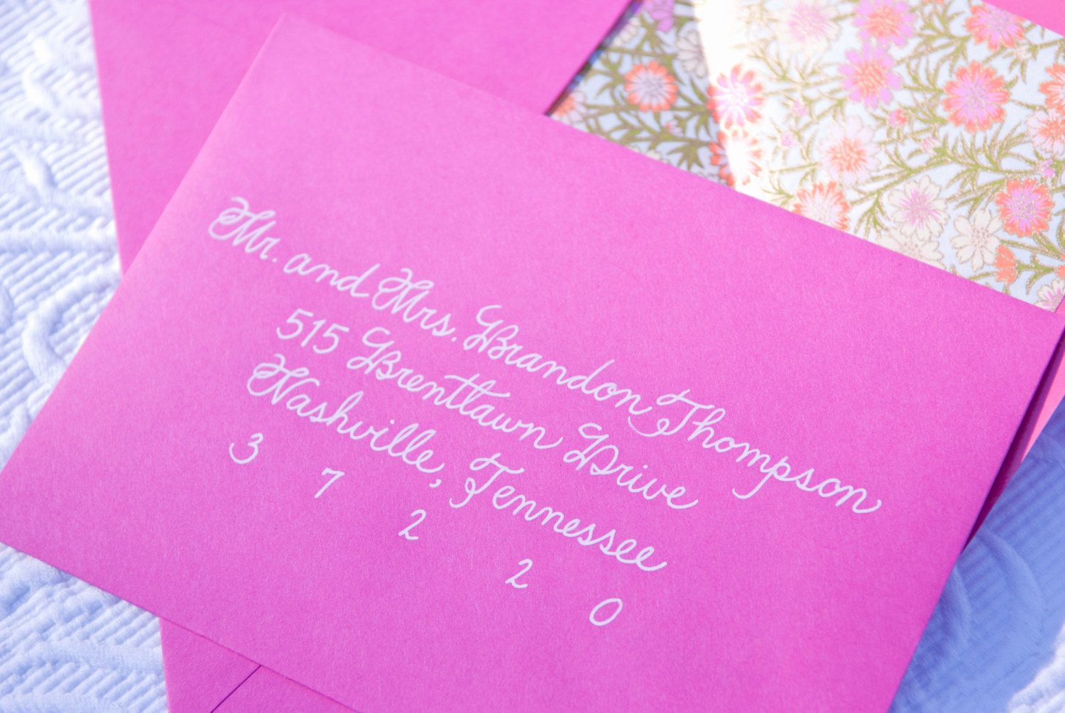Fonts for Wedding Invitation Envelopes Beautiful Custom Handwritten Wedding Calligraphy for Invitation Envelope