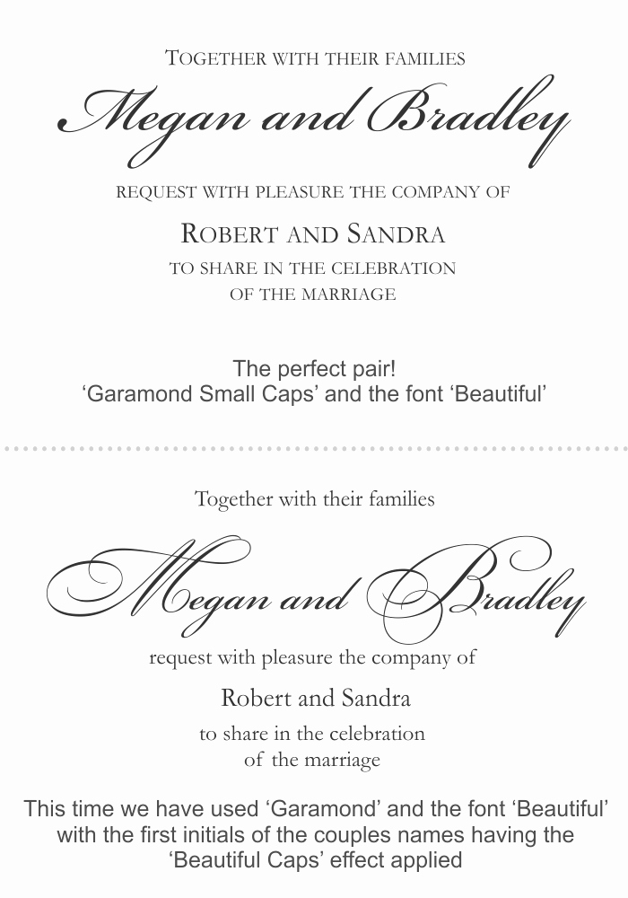 Fonts for Wedding Invitation Envelopes Best Of Good Font for Wedding Invitations