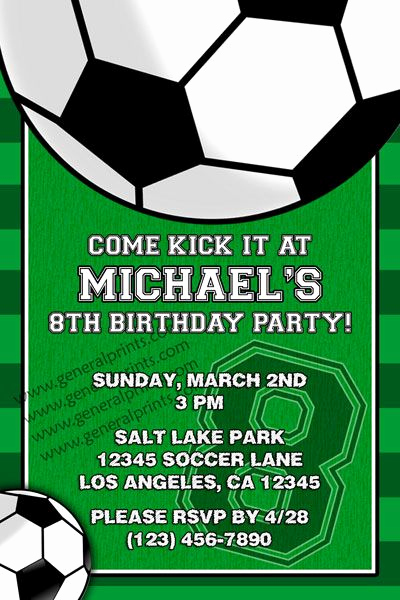 Football Party Invitation Wording Luxury soccer Invitation Invitations Pinterest