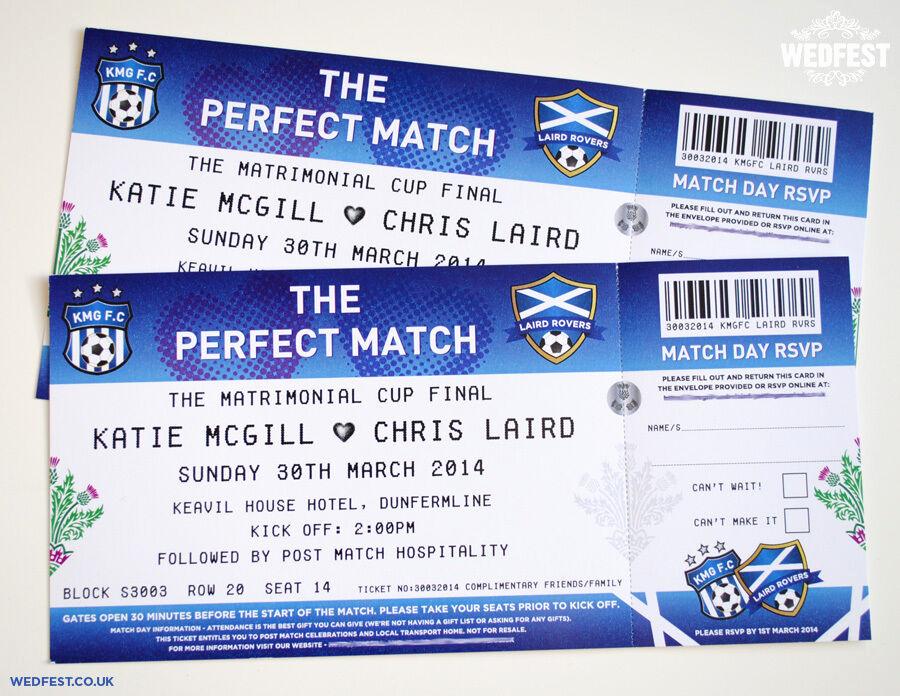 Football Ticket Invitation Template Free Unique Football Ticket Wedding Invitations Sample Pack