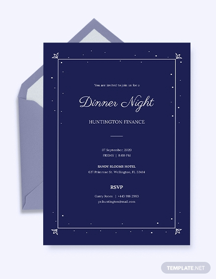 Formal Dinner Invitation Templates Elegant 49 Dinner Invitation Templates Psd Ai Word