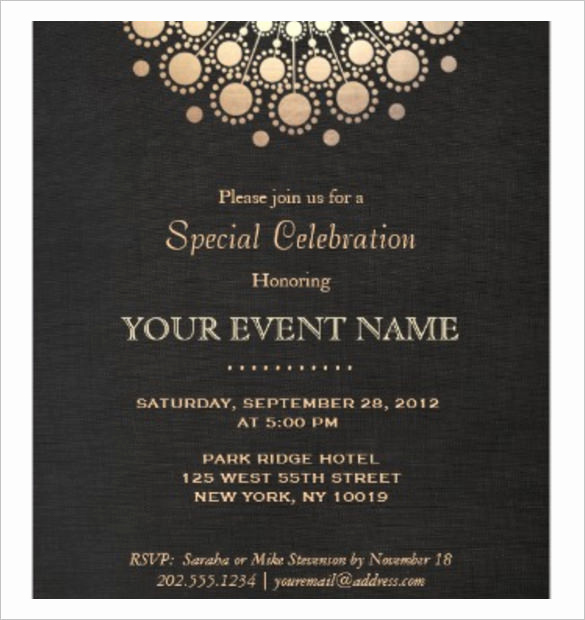 Formal Dinner Invitation Templates Inspirational 37 Invitation Templates Word Pdf Psd Publisher