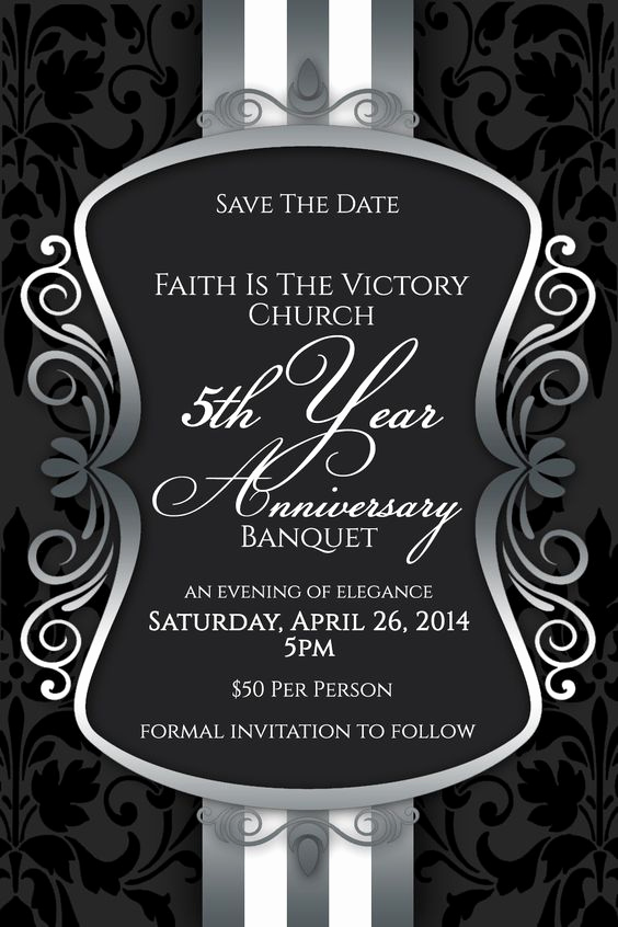 Formal Invitation to Follow Luxury Save the Date We Invite You to Join Faith is the Victory