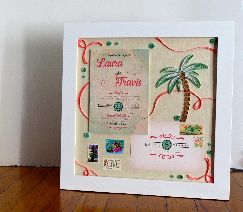 Framed Wedding Invitation Keepsake Best Of Framed Wedding Invitation Keepsake Wedding Gift From Mother
