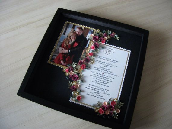 Framed Wedding Invitation Keepsake Luxury 17 Best Images About Wedding Invitations Framed Keepsake