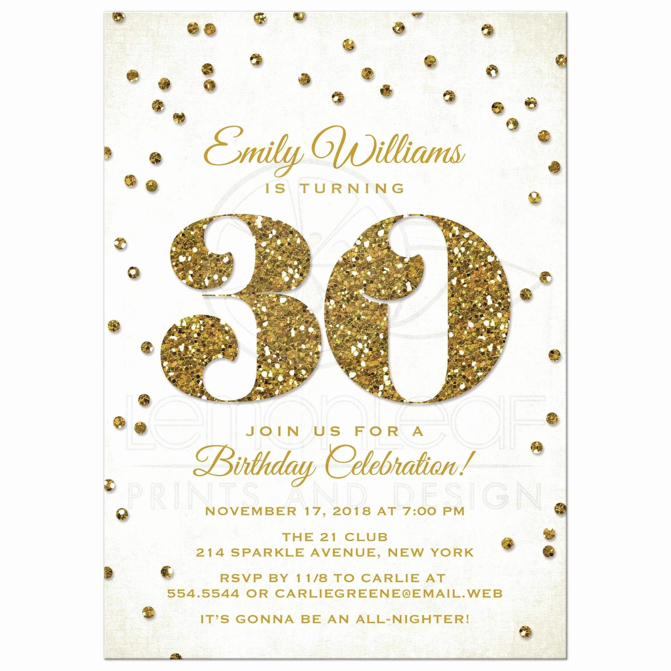 Free Anniversary Invitation Templates Awesome 30th Birthday Invitations Templates Free Printable