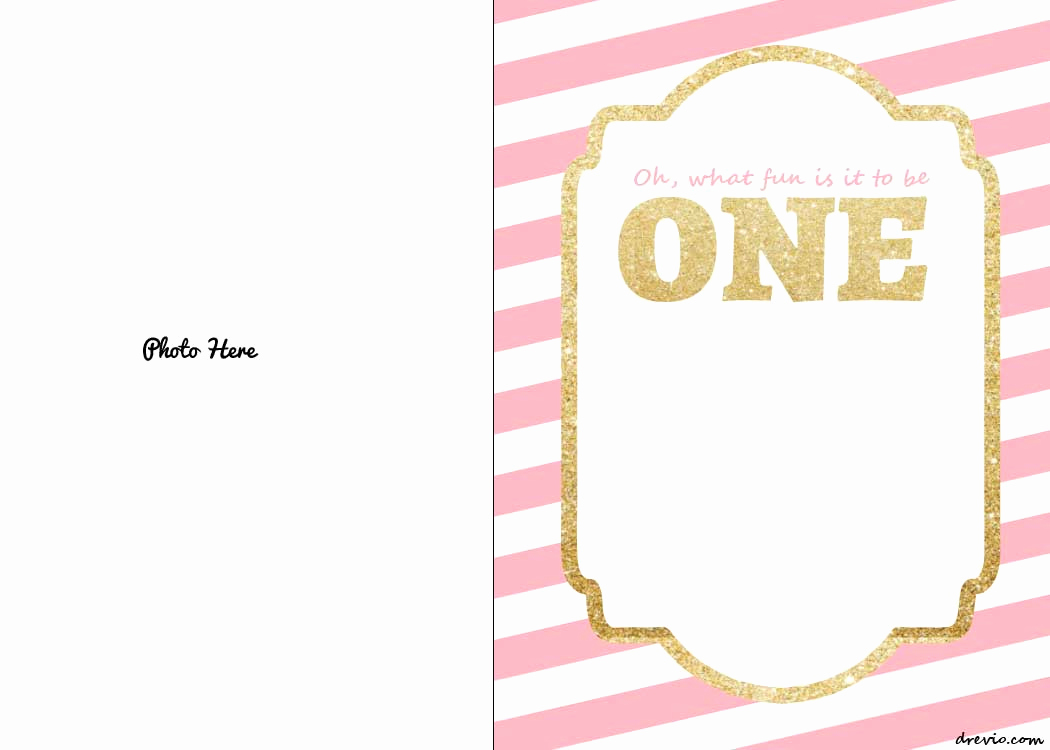 Free Anniversary Invitation Templates Awesome Free Printable 1st Birthday Invitations Template