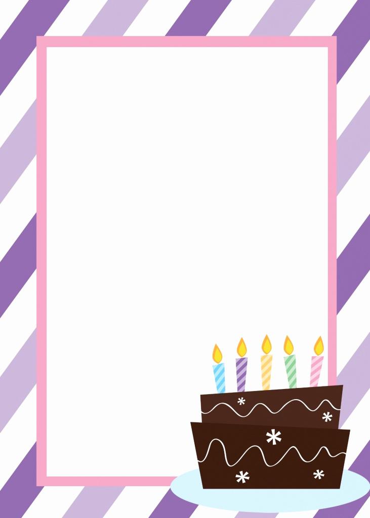 Free Anniversary Invitation Templates Best Of Free Printable Birthday Invitation Templates