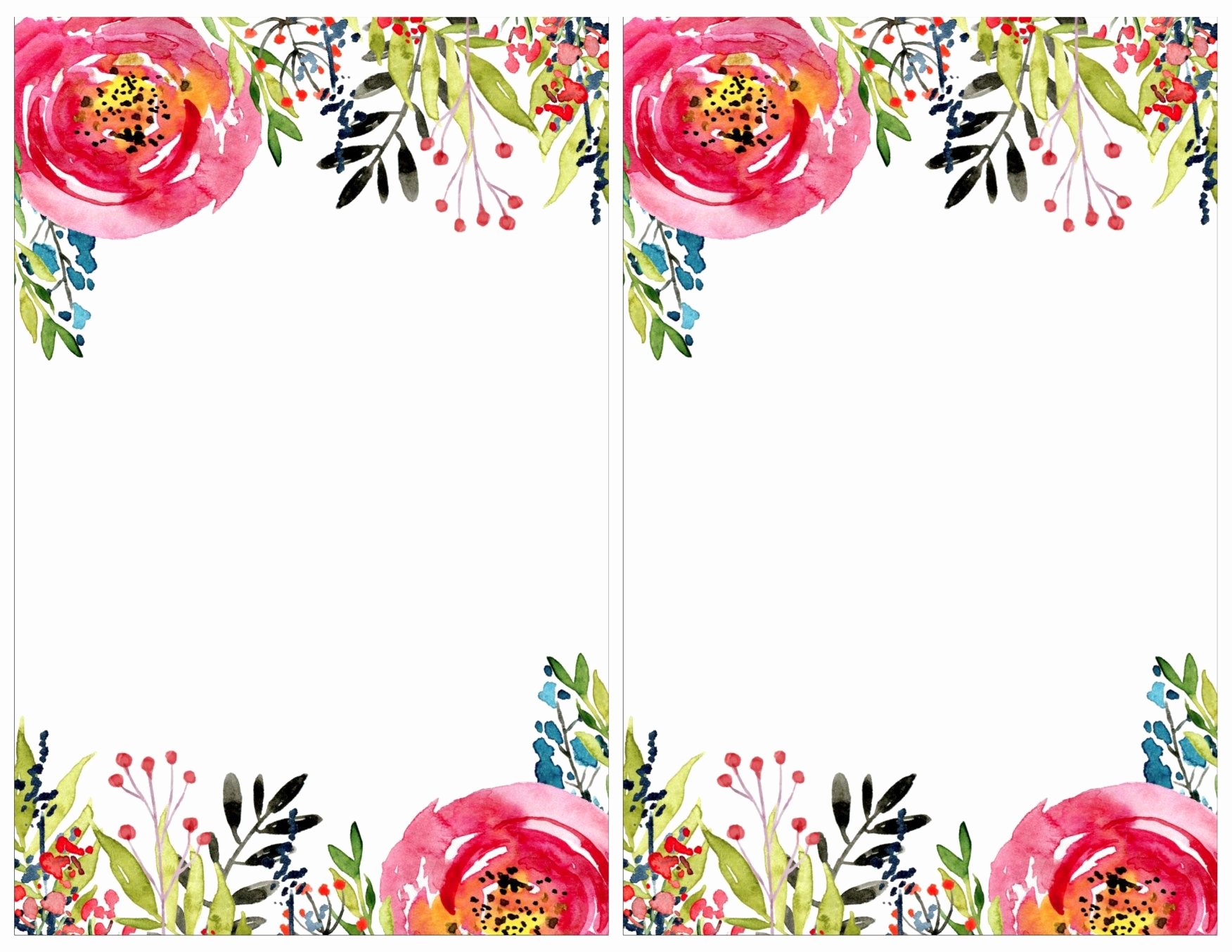 Free Art Party Invitation Templates Unique Floral Invitation Template Free Printable