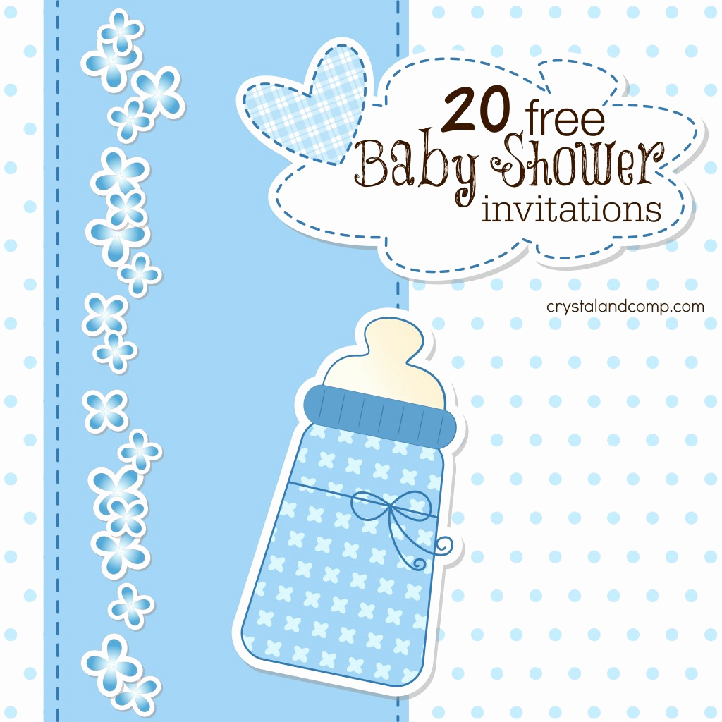 Free Baby Shower Invitation Templates Luxury Printable Baby Shower Invitations