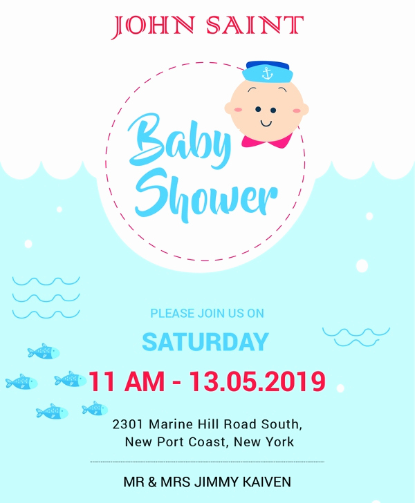 Free Baby Shower Invitation Templates New 59 Unique Baby Shower Invitations