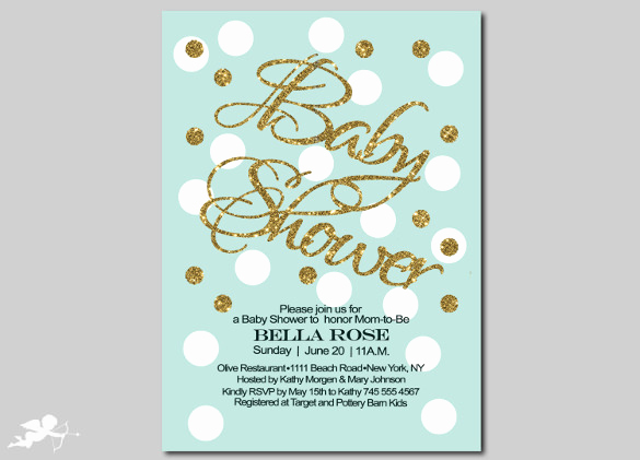 Free Baby Sprinkle Invitation Templates Elegant Baby Shower Invitation Template 29 Free Psd Vector Eps