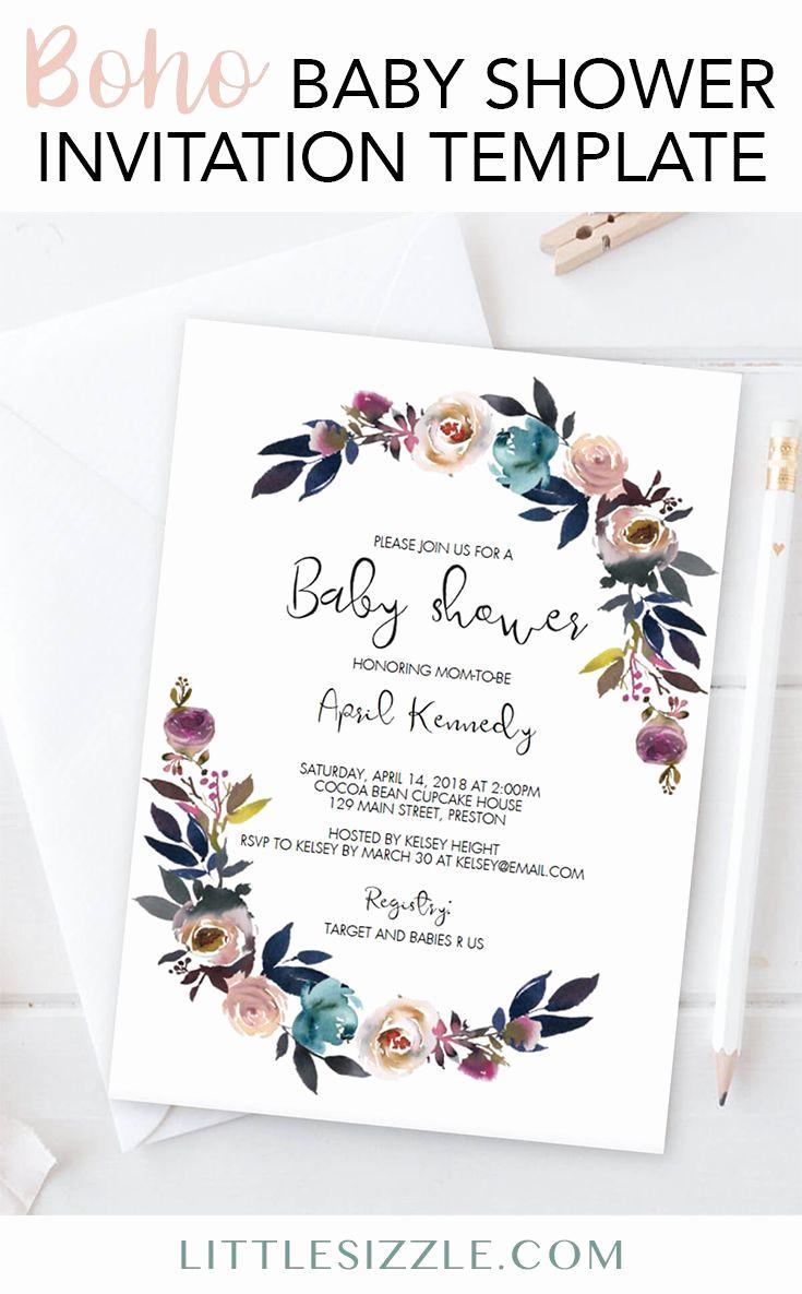 Free Baby Sprinkle Invitation Templates Elegant Best 25 Baby Shower Templates Ideas On Pinterest