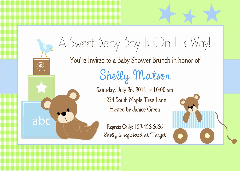 Free Baby Sprinkle Invitation Templates Inspirational Free Baby Boy Shower Invitations Templates Baby Boy