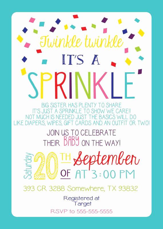 Free Baby Sprinkle Invitation Templates Lovely Best 25 Surprise Birthday Invitations Ideas On Pinterest