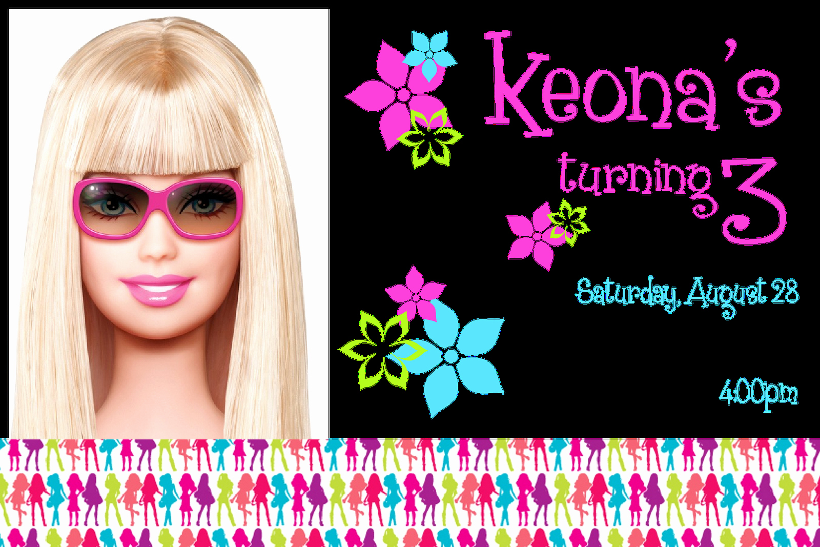 Free Barbie Invitation Templates Best Of Free Printable Barbie Invitations Invitation Templates