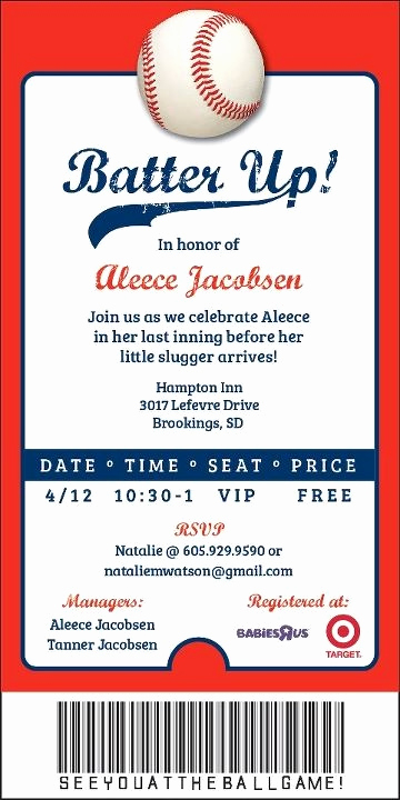 Free Baseball Invitation Template Beautiful 22 Best Cjo Baseball Game Images On Pinterest